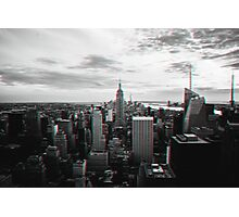 New York City in 3D Photographic Print