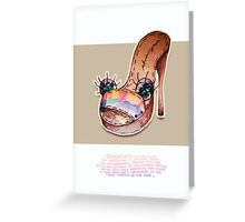 Little Profiles Sole Searching Greeting Card
