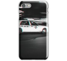 Stereoscopic Taxi in New York iPhone Case/Skin