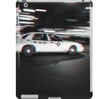 Stereoscopic Taxi in New York iPad Case/Skin