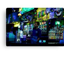 New Orleans Night Life... Canvas Print
