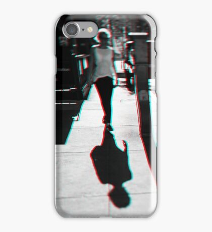 Walking in Manhattan in 3D iPhone Case/Skin