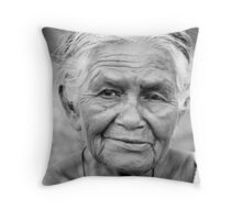 Sri Lanka Grandma Throw Pillow