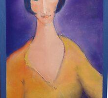 PORTRAITS OF WOMAN  IIII by Helen  Keen