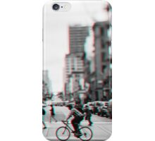 Stereoscopic San Francisco People iPhone Case/Skin
