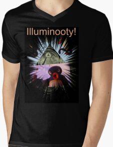 Illuminooty! Mens V-Neck T-Shirt