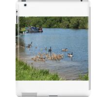 Canada Geese River Thames iPad Case/Skin