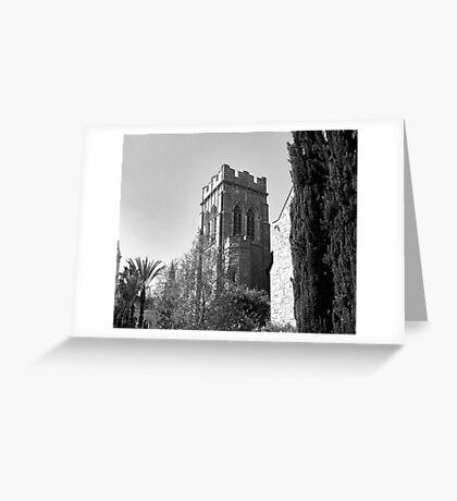 CHURCH TOWER Greeting Card