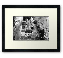 Furtiveness Framed Print