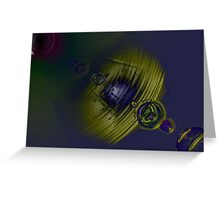 Lens Flare One Greeting Card