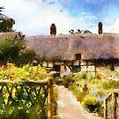 cottage garden digital by cynthiab