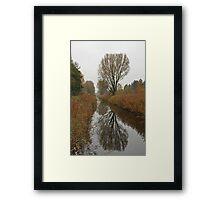 Autum Reflection Framed Print