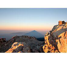 Teide Shadow Photographic Print