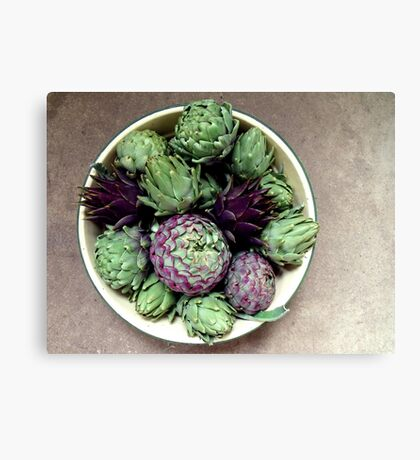 A Bowlful of Beauties Canvas Print