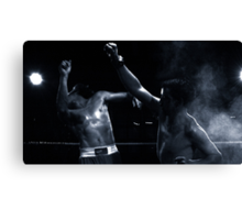 Knockout Canvas Print