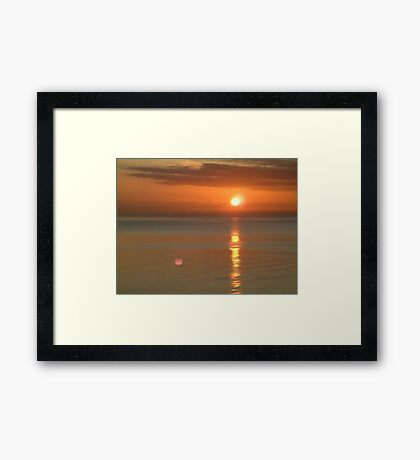 Coastal Sunrise Framed Print