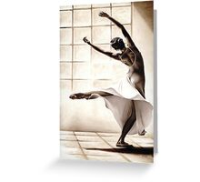 Dance Finess Greeting Card