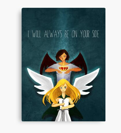 I Will Always Be On Your Side Canvas Print