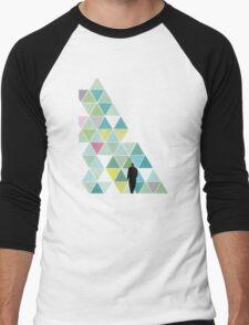 Obstacle Men's Baseball ¾ T-Shirt