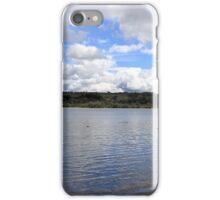 Landscape across castle Semple Loch (lochwinnoch) iPhone Case/Skin