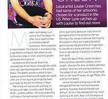 """Article in """"Focus"""" magazine November 2009 by louisegreen"""