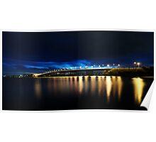 Captain Cook Bridge Poster