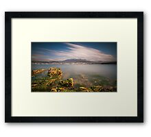 Hobart from Bellerive Framed Print