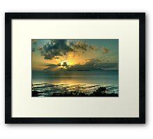 Gloucester Sunrise Framed Print