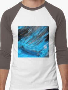 stormy sea Men's Baseball ¾ T-Shirt