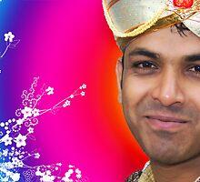 Indian Bride Groom  by Sunil Bhardwaj