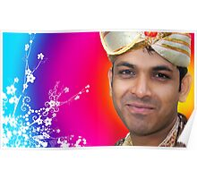 Indian Bride Groom  Poster
