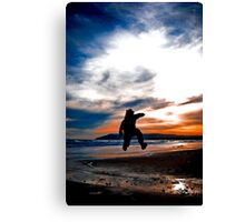 Dusk Jumper! Canvas Print