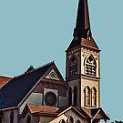 Newman United Methodist Church by Bryan D. Spellman