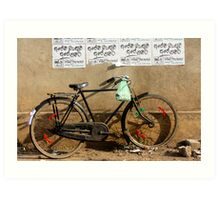 Cruiser bike Art Print