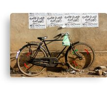 Cruiser bike Canvas Print