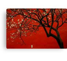 China Red  Canvas Print