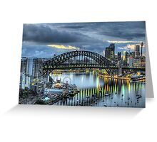 Somewhere - Moods Of A City - The HDR Experience Greeting Card