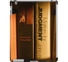 Matters for Judgment iPad Case/Skin