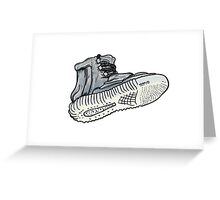 Yeezy Boost Grunge Greeting Card