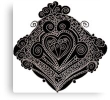 Wrought Heart Canvas Print