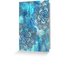 Lost in Blue - a daydream made visible Greeting Card