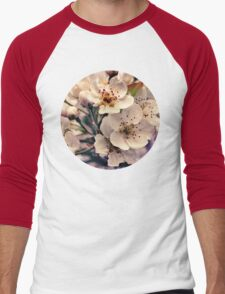 Blossoms at Dusk  Men's Baseball ¾ T-Shirt
