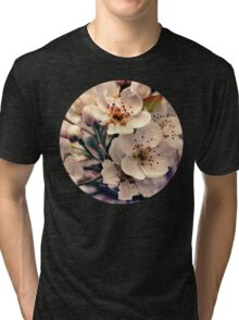 Blossoms at Dusk  Tri-blend T-Shirt