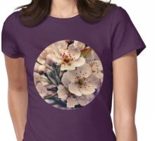 Blossoms at Dusk  Womens Fitted T-Shirt