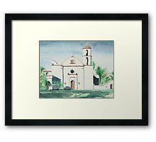 Mission San Luis Rey Framed Print
