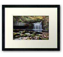 Cauldron Falls - West Burton Framed Print