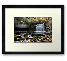 Cauldron Falls - West Burton Framed Print