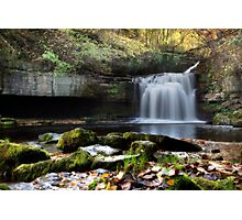 Cauldron Falls - West Burton Photographic Print
