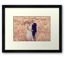 Chris & Kellie Framed Print