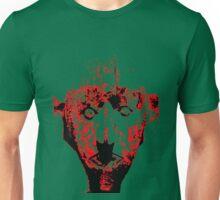 stencil type ghoulish figure Unisex T-Shirt